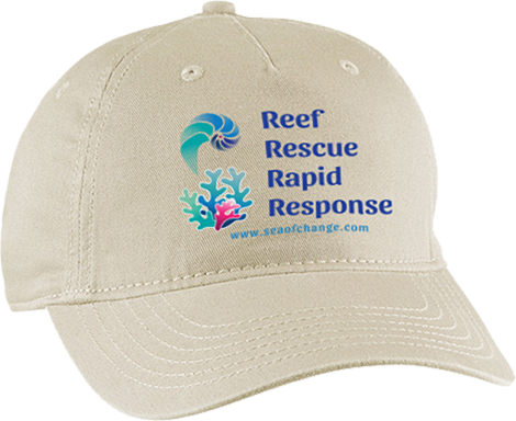 Reef Rescue and Rapid Response Baseball Cap